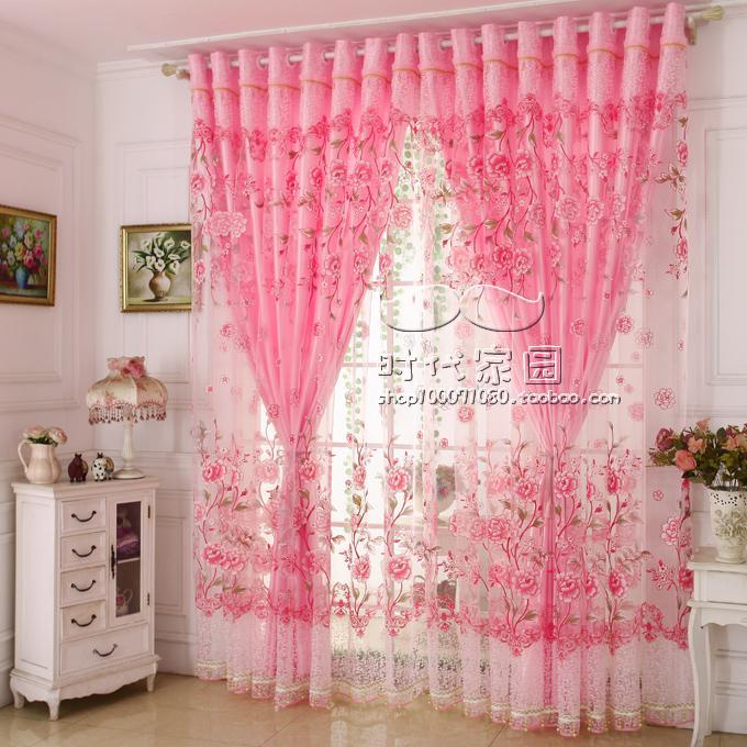 婚房窗帘纱帘