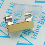 With transparent cover 5*20 fuse holder orange fuse box high quality fuse holder