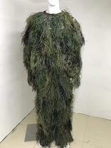 Laine soie camouflage jungle désert camouflage neige des vêtements de camouflage Geely vêtements jungle observation des oiseaux des vêtements de camouflage