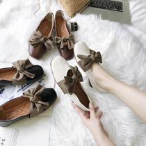 夏季新款套脚纯色毛球舒适时尚凉鞋穆勒鞋女2018达芙妮Daphne