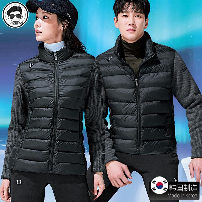 韩国正品代购佩吉酷羽毛球服女套装 长袖 男外套长裤服装秋冬新款