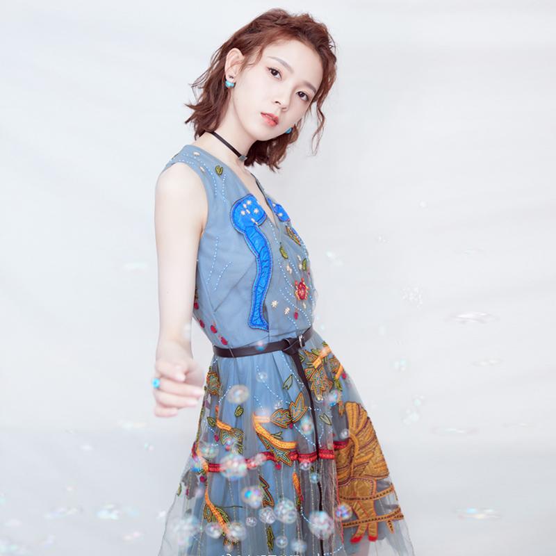 同款刺绣裙