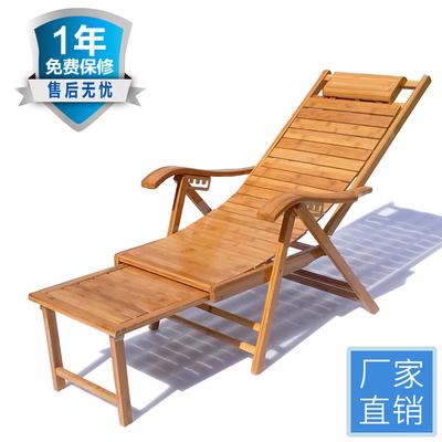 竹躺椅竹摇摇椅折叠椅家用午休凉椅老人休闲逍遥椅成人实木靠背椅新款推荐