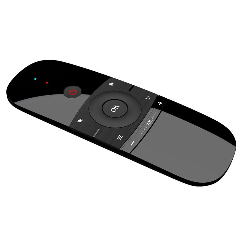 新款迷你飞鼠键盘陀螺仪空中鼠标安卓机顶盒子2.4G无线通用遥控器