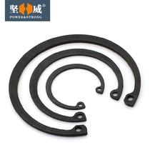 (Φ8-Φ37)孔用卡簧 内卡卡簧 C型挡圈 孔卡 孔用弹性挡圈65锰