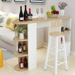 冲销量简约现代欧式吧台桌家用客厅隔断柜小吧台桌靠墙咖啡桌酒柜