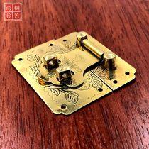 锯齿锁玻璃门锁展示柜台烟柜推拉门单双开门移门锁加长橱窗锁