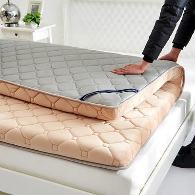 榻榻米床垫1.5米学生单双人宿舍加厚保暖床褥1.8m床海绵垫被垫子有假货吗