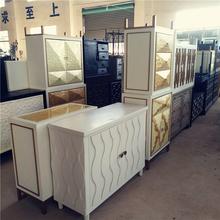 孤品美式欧式复古家具木质雕花橱柜鞋柜床头柜茶几边桌玄关台斗柜