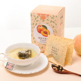 Peach Girl~ Good mood No added fruit tea triangle tea bag white peach Oolong peach Oolong 12 bags