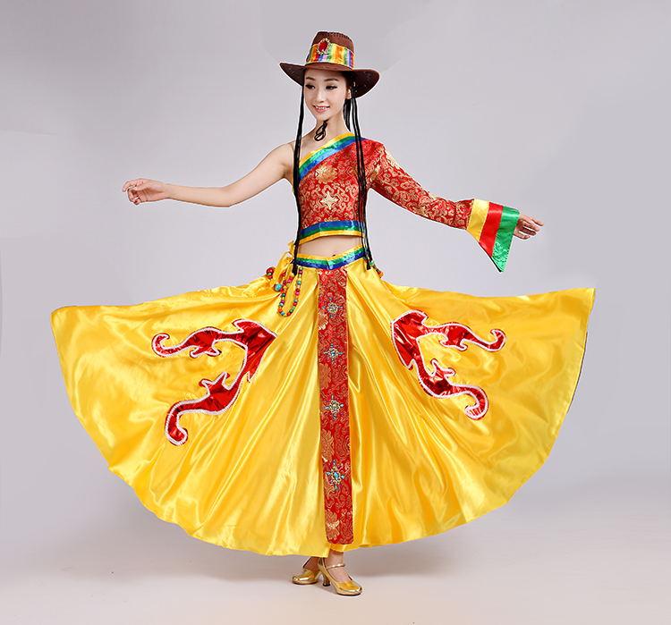 康定情歌舞蹈服装女
