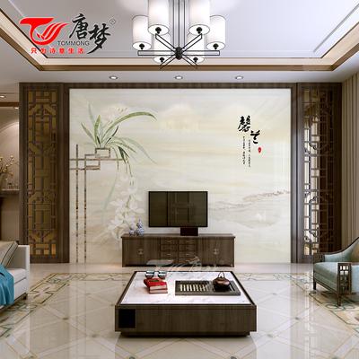 唐梦 瓷砖背景墙中式现代电视背景墙瓷砖客厅背景影视墙砖 馨兰