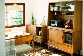 日式实木餐边柜北欧玻璃碗柜展示收纳柜子客厅储物柜多功能省空间