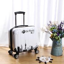 儿童行李箱可骑可坐皮箱拉杆箱女可爱男孩公主小清新韩版卡通18寸