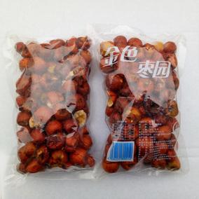 古园金色枣园 脆冬枣 (碎枣残枣)250克×2袋  包邮部分地区