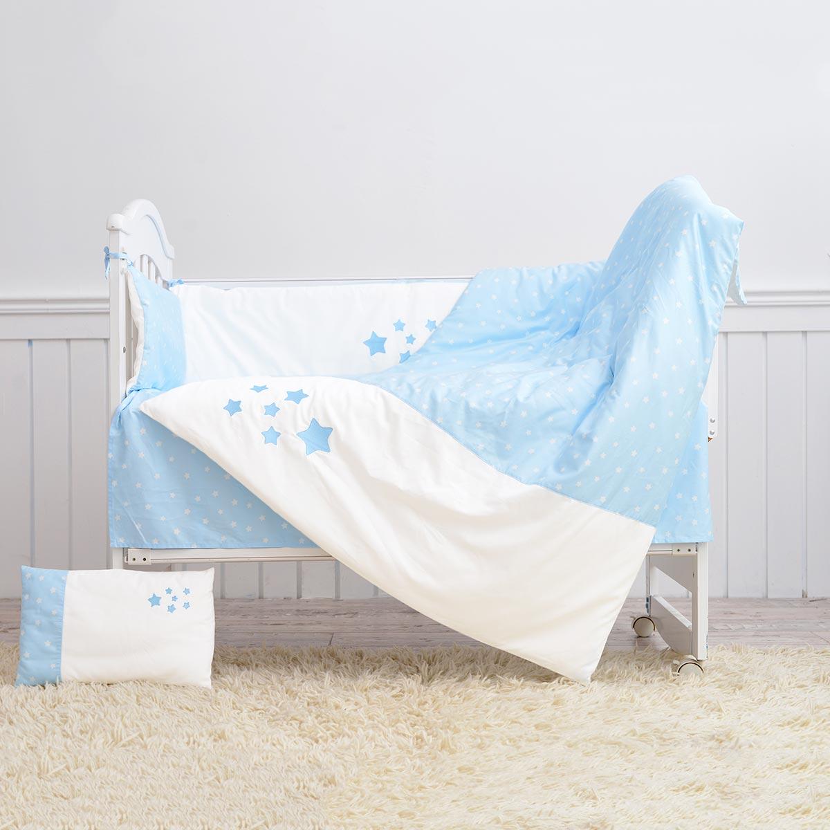 水星家纺婴儿床上用品十三件套新生儿纯棉Baby希望之星