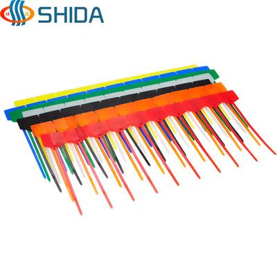 仕达标牌扎带尼龙封签塑料封条一次性标记束线理线标签吊牌扎线带