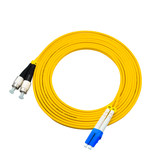 200 m LC-FC single mode duplex fiber jumper pigtail fiber jumper telecommunication engineering grade