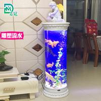 欧式鱼缸 生态水族箱
