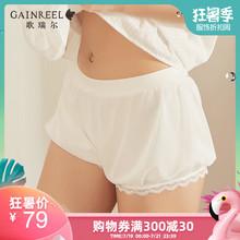 歌瑞尔时尚薄款防走光打底裤性感蕾丝女士内搭安全短裤19004BK图片