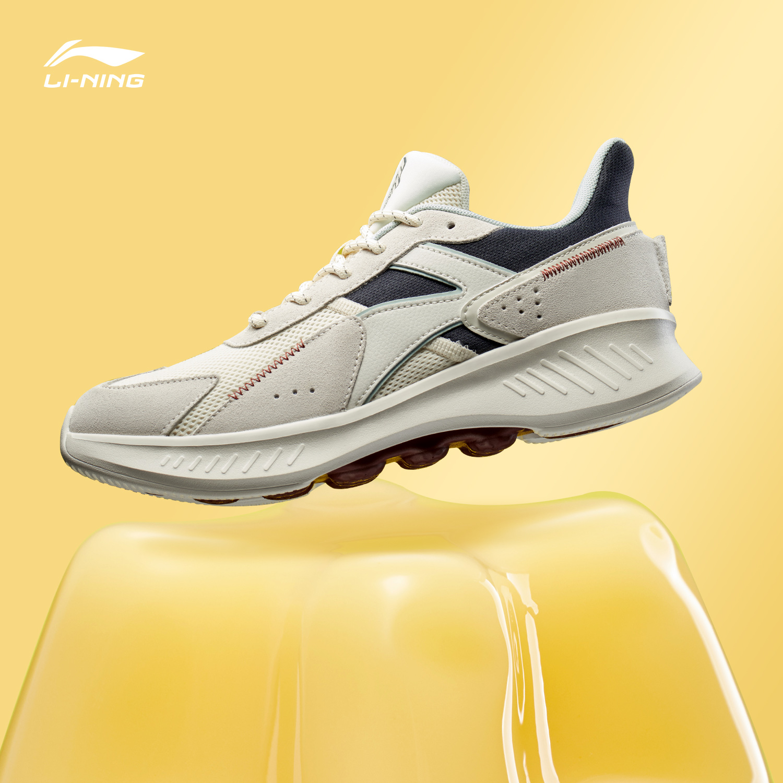 李宁跑步鞋男鞋2019新款eazGO休闲减震男士情侣鞋低帮舒适运动鞋