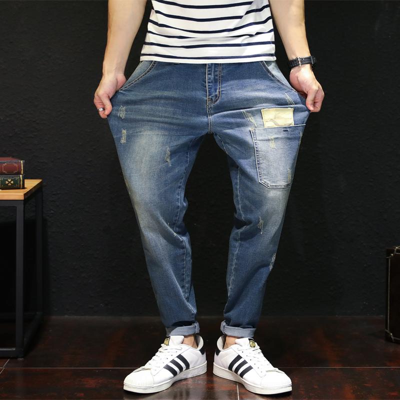 弹力宽松版男士牛仔裤3元优惠券