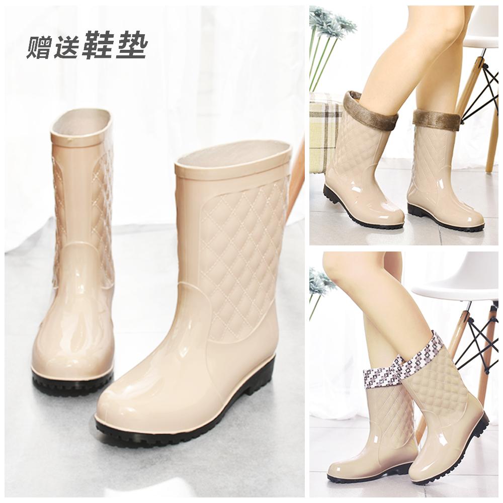 雨靴高筒女士