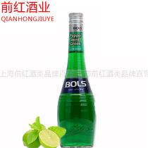 洋酒包邮进口配制酒利口酒700ML波士绿薄荷力娇酒美酒汇