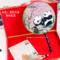 熊猫蜀绣团扇成都特产双面扇子中国风高端商务礼品长辈出国送老外