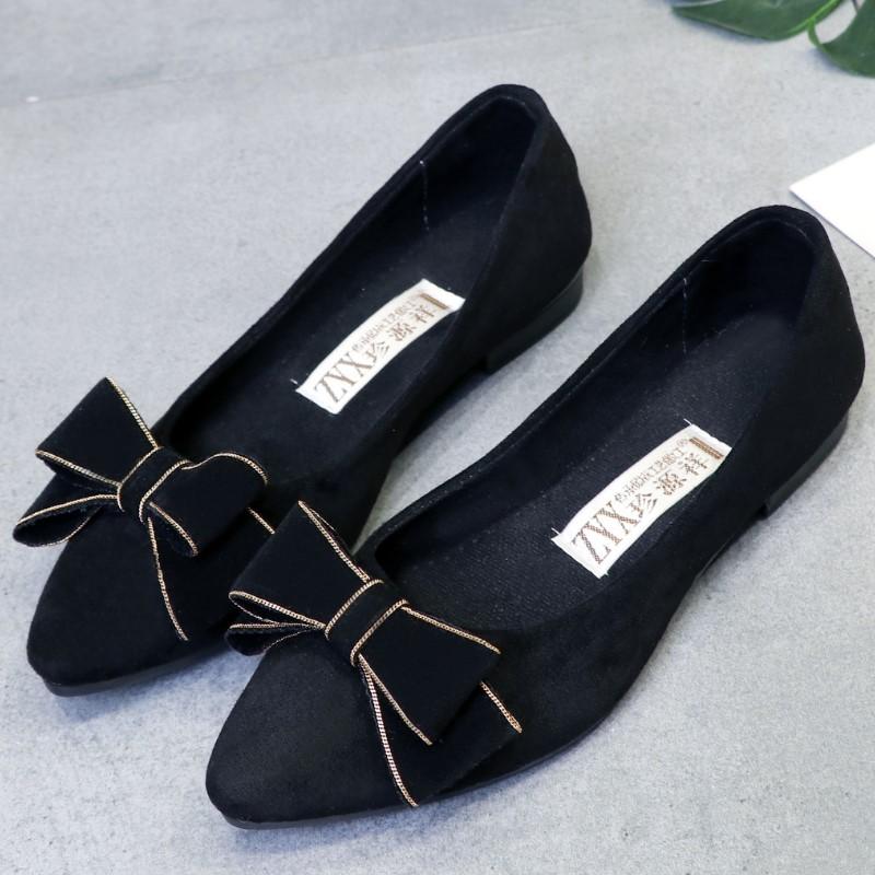 尖頭舒適女單鞋