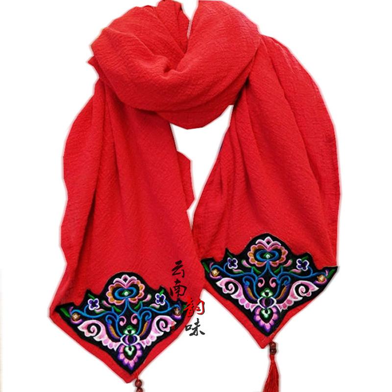Женские шарфы из хлопка Артикул 578407854211