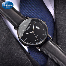 新款 手表时尚 迪士尼男士 正品 潮流休闲日历商务腕表青少年学生男表