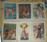 中国古代戏曲人物小年画