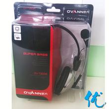 欧凡 OV-T360MV头戴式电脑耳机耳麦 外置麦克风 正品