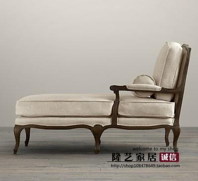 复古躺椅沙发