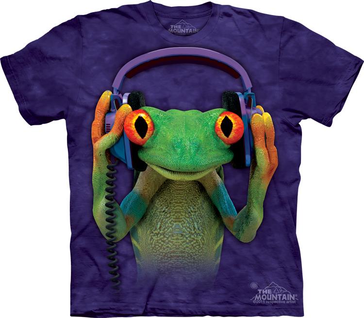 美国体恤The MountainT恤正品个性DJ摇滚青蛙圆领情侣装短袖男t恤