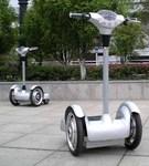 四輪站立電動車