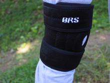 兄弟BRS双弹簧护膝专业登山护膝徒步护膝户外必备登山护膝单只装