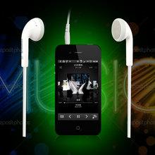 kanen/卡能 KM-91 手机MP3音乐耳机不带麦耳塞式小耳机白色时尚潮