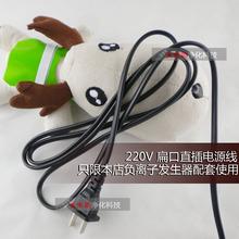 DIY配件 220V双头直插 电源线