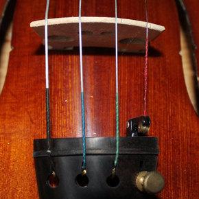 上音牌小提琴琴弦初学者儿童练习教学钢丝琴弦套弦4G3D2A1E单根弦