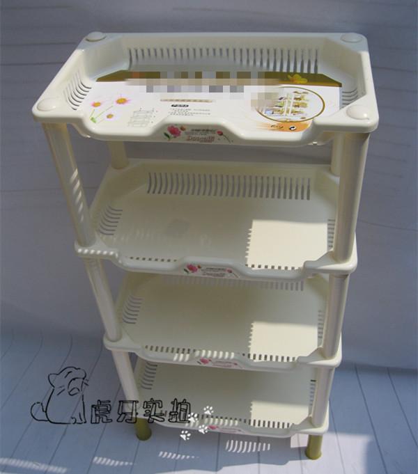 特价包邮中号长方形卫浴置物收纳架浴室洗漱用品角架厨卫储物架