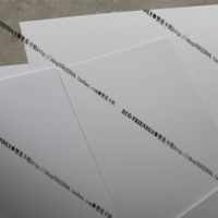 1mm double-sided matt A2 thick white card 700g all white cardboard paper model special keel card