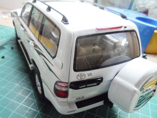 原厂兰德酷路泽改装案例lc100/200中东版汽车模型预定