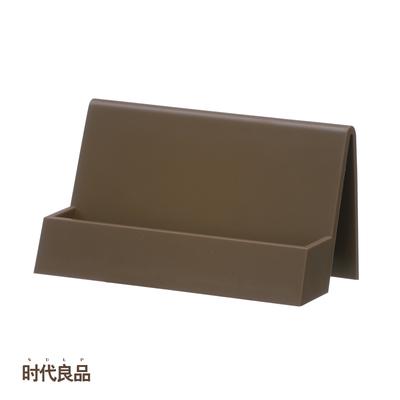 时代良品商务名片座办公桌面创意摆设件便条卡架大容量SD-N7206