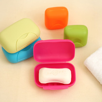 Travel business hotel outdoor creative portable men and women toiletries personal cleaning with lid large soap box