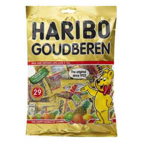 荷兰进口 德国HARIBO小熊糖/金熊软糖 350g 独立29小包  婴儿零食