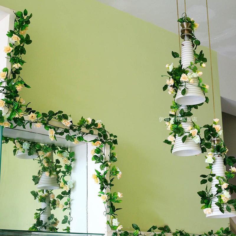 仿真花掛壁裝飾花客廳