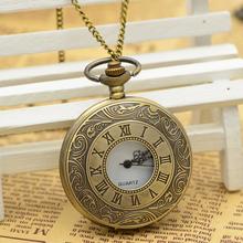 包邮经典时尚复古翻盖怀表女罗马数字情侣礼物石英非机械电子表男