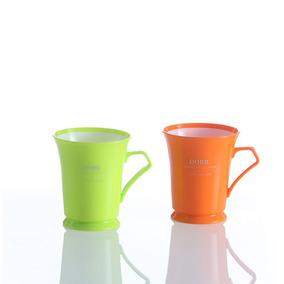 促销双色塑料口杯 随手杯 水杯子 漱口杯 刷牙杯 茶杯 JKC1212